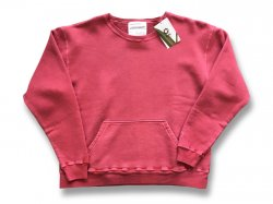 【MUJI】 JAPAN MADE CREW SWEAT - Cloveru RED<img class='new_mark_img2' src='//img.shop-pro.jp/img/new/icons47.gif' style='border:none;display:inline;margin:0px;padding:0px;width:auto;' />