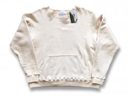【MUJI】 JAPAN MADE CREW SWEAT - NATURAL IVORY<img class='new_mark_img2' src='//img.shop-pro.jp/img/new/icons47.gif' style='border:none;display:inline;margin:0px;padding:0px;width:auto;' />