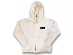 Zip Hood Sweat 【FAKE SKULL HOOD】 Natural Ivory