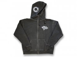 Zip Hood Sweat 【SPORTS HOOD】 Rock Black