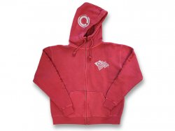 Zip Hood Sweat 【SPORTS HOOD】 Cloveru Red