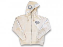 Zip Hood Sweat 【SPORTS HOOD】 Natural Ivory<img class='new_mark_img2' src='//img.shop-pro.jp/img/new/icons47.gif' style='border:none;display:inline;margin:0px;padding:0px;width:auto;' />