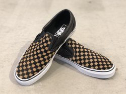 VANS CLASSIC SLIP-ON (Calf Hair)Checkerboard<img class='new_mark_img2' src='https://img.shop-pro.jp/img/new/icons47.gif' style='border:none;display:inline;margin:0px;padding:0px;width:auto;' />