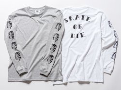 SKATE OR DIE LS TEE(RUTSUBO×SHO WATNABE)<img class='new_mark_img2' src='https://img.shop-pro.jp/img/new/icons47.gif' style='border:none;display:inline;margin:0px;padding:0px;width:auto;' />