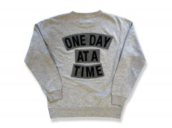 ONEDAY AT A TIME -Washed Gray