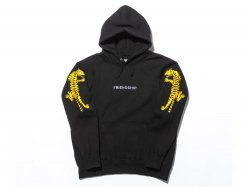TIGER PULLOVER PARKA - BLACK<img class='new_mark_img2' src='https://img.shop-pro.jp/img/new/icons47.gif' style='border:none;display:inline;margin:0px;padding:0px;width:auto;' />