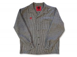 Oldies Wool Shirts - White/Charcoal Gray