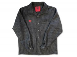 Oldies Wool Shirts - Black/Charcoal Gray