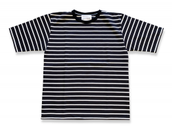 BOARDER Tee - Navy<img class='new_mark_img2' src='//img.shop-pro.jp/img/new/icons47.gif' style='border:none;display:inline;margin:0px;padding:0px;width:auto;' />