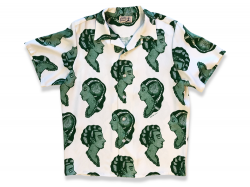RAYON ART SHIRT - Green<img class='new_mark_img2' src='//img.shop-pro.jp/img/new/icons47.gif' style='border:none;display:inline;margin:0px;padding:0px;width:auto;' />