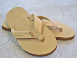 RAINBOW SANDALS ダブルレイヤー・プレミアレザー ベージュ<img class='new_mark_img2' src='https://img.shop-pro.jp/img/new/icons47.gif' style='border:none;display:inline;margin:0px;padding:0px;width:auto;' />