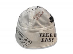 USN Sailor Hat custom handpaint by Sho Watanabe. 【限定10個】