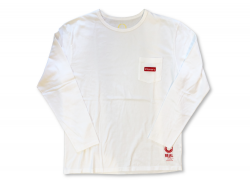 BOX LOGO LS - Washed White<img class='new_mark_img2' src='https://img.shop-pro.jp/img/new/icons47.gif' style='border:none;display:inline;margin:0px;padding:0px;width:auto;' />