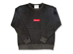 BOX LOGO  CREW - Rock Black<img class='new_mark_img2' src='https://img.shop-pro.jp/img/new/icons47.gif' style='border:none;display:inline;margin:0px;padding:0px;width:auto;' />