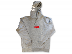 BOX LOGO  HOOD - Washed Gray
