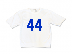 Cloveru SS Sweat Limited 【44】Washed White.<img class='new_mark_img2' src='https://img.shop-pro.jp/img/new/icons47.gif' style='border:none;display:inline;margin:0px;padding:0px;width:auto;' />