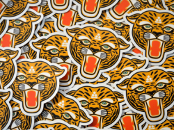 SHO WATANABE TIGER ステッカー(2枚セット)<img class='new_mark_img2' src='https://img.shop-pro.jp/img/new/icons47.gif' style='border:none;display:inline;margin:0px;padding:0px;width:auto;' />