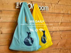 Cloveru Limited Nylon Shopping Bags【WHALE LOVE】2021.<img class='new_mark_img2' src='https://img.shop-pro.jp/img/new/icons5.gif' style='border:none;display:inline;margin:0px;padding:0px;width:auto;' />