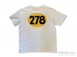Number 278 Tee - Washed White<img class='new_mark_img2' src='https://img.shop-pro.jp/img/new/icons5.gif' style='border:none;display:inline;margin:0px;padding:0px;width:auto;' />