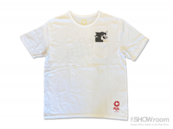 RACING FLAG Tee - Washed White<img class='new_mark_img2' src='https://img.shop-pro.jp/img/new/icons5.gif' style='border:none;display:inline;margin:0px;padding:0px;width:auto;' />