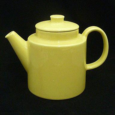 Arabiaアラビア Teemaティーマ コーヒーポット イエロー