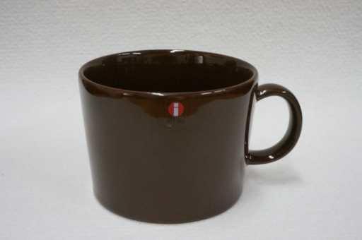 未使用品 IittalaイッタラTeemaティーマ ブラウン マグカップ 400ml