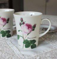 ルドゥーテ 薔薇 マグカップ