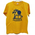 <img class='new_mark_img1' src='//img.shop-pro.jp/img/new/icons1.gif' style='border:none;display:inline;margin:0px;padding:0px;width:auto;' />ALOHA Tシャツ オレンジ