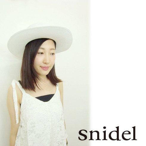 snidel(スナイデル)<br>ブレードカンカンハット  16春夏.【SWGH162629】 帽子 sale