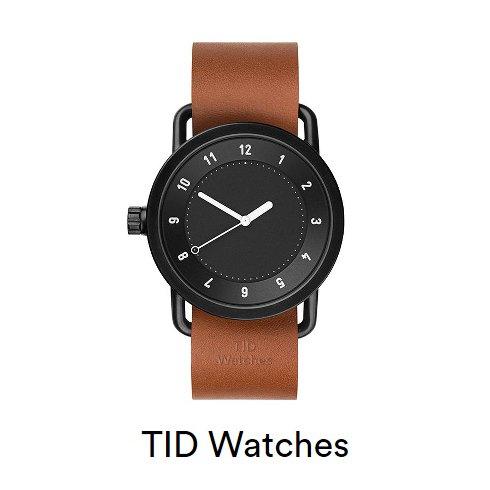 TID Watch(ティッドウォッチ)<br>BLACK×TAN 40cm  16春夏.【TID01-BK×T】 その他