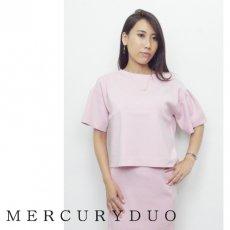 MERCURYDUO(マーキュリーデュオ)<br>フレアスリーブニット  16秋冬【1652600801】 ニットトップス