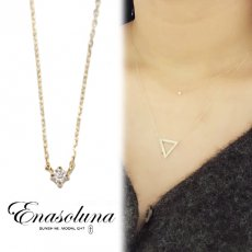 Enasoluna(エナソルーナ)<br>BeBe dia necklace 9月初旬予約【EN-NK-1181】 ネックレス クリスマス