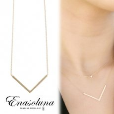 Enasoluna(エナソルーナ)<br>Smily necklace 12月中旬予約【EN-NK-1152】 ネックレス