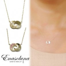 Enasoluna(エナソルーナ)<br>Two face necklace  【NK-893】