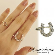 Enasoluna(エナソルーナ)<br>Horseshoe ring 【RG-878】