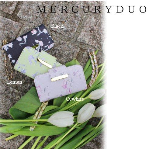 MERCURYDUO(マーキュリーデュオ)<br>チューリップ柄 iPhoneケース  17春夏【1721000301】 sale