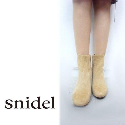 snidel(スナイデル)<br>サイドゴアブーツ 【SWGS171618】 ブーツ sale