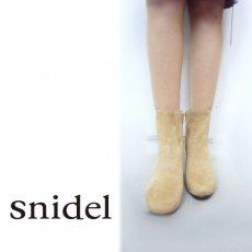 snidel(スナイデル)<br>サイドゴアブーツ 【SWGS171618】 ブーツ