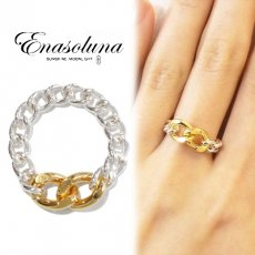 Enasoluna(エナソルーナ) <br>Chain ring (Two face)【RG-1245】