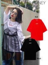 Honey mi Honey (ハニーミーハニー)<br>LUCKOUT Tshirt  17秋冬【17A-TA-01】 Tシャツ