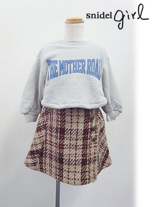 snidel(スナイデル)<br>girlチェックミニスカート  17秋冬【SKFS174204】 ボトム sale