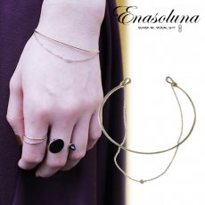 Enasoluna(エナソルーナ)<br>BeBe dia bangle 【BS-1291】