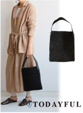 TODAYFUL(トゥデイフル)<br>Onehandle Abaca Bag  18春夏予約【11811029】