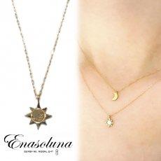 Enasoluna(エナソルーナ)<br>Sol necklace 9月初旬予約【NK-759】佐野麻衣子さん愛用 ネックレス
