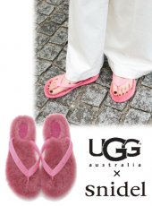 snidel(スナイデル)<br>UGG W Fluffie  18春夏【SWGS181701】 サンダル