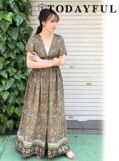 TODAYFUL(トゥデイフル)<br>Paisley Corset Dress  18春夏.【11810314】