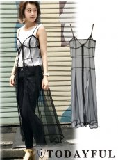 TODAYFUL(トゥデイフル)<br>Tulle Camisole Dress  18春夏.【11810331】