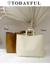 TODAYFUL(トゥデイフル)<br>Ecoleather Tote Bag   18春夏.予約【11811065】