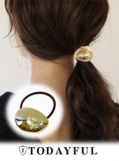 TODAYFUL(トゥデイフル)<br>Oval Plate Hairband  18春夏.【11810949】