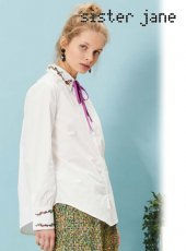sister jane(シスタージェーン)<br>Begonia Embroidered Blouse  18春夏予約【17SJ02BL714】